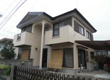 吉野川市鴨島町K様 最近、流行りの暖色系で塗替え完了!