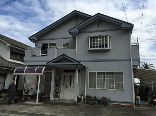 小松島市赤石町F様 プレミアムペイントで塗替え。