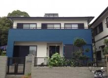 兵庫県南あわじ市M様 ベランダ廻りを特徴的に塗替えました!