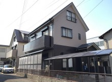 徳島市南福島A様 メリハリのある上下2色で塗替え完了!