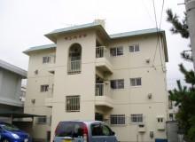 徳島県吉野川市鴨島町アパート、マンションの外壁塗装。