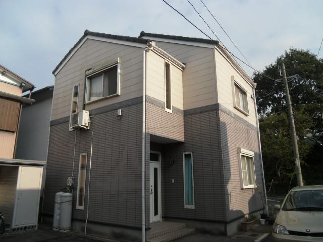 徳島市名東町G様 メリハリのある上下2色の塗り替え。