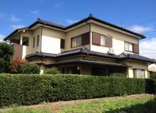 和風住宅も塗り替えで綺麗になりました。