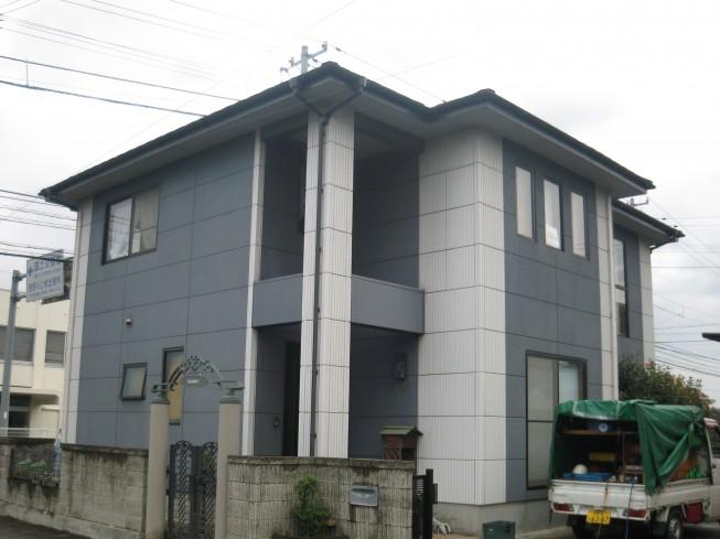 板野郡上板町T様 新築時の色合いを復元。