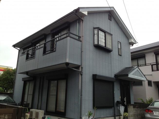 徳島市佐古4番町Y様 絶妙な色分けで塗替え完了!